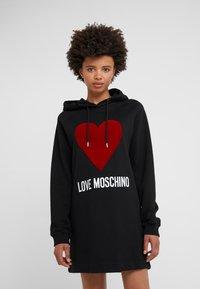 Love Moschino - DRESS - Day dress - black - 0
