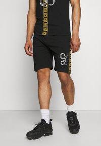 Brave Soul - SNAKE PRINTED SET - Print T-shirt - black - 3