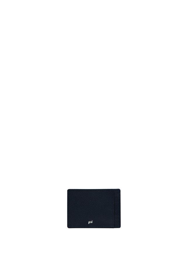 FRENCH  - Business card holder - darkblue