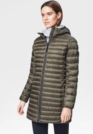 DORA - Down coat - olivgrün