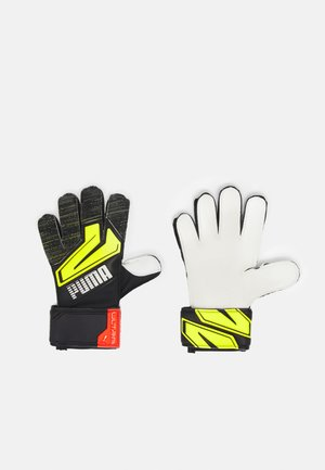 ULTRA GRIP 3 UNISEX - Goalkeeping gloves - black/yellow alert