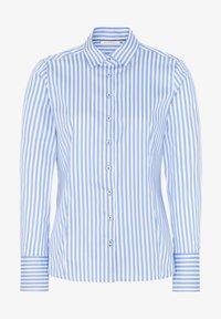 Eterna - MODERN CLASSIC - Overhemdblouse - hellblau/weiß - 3
