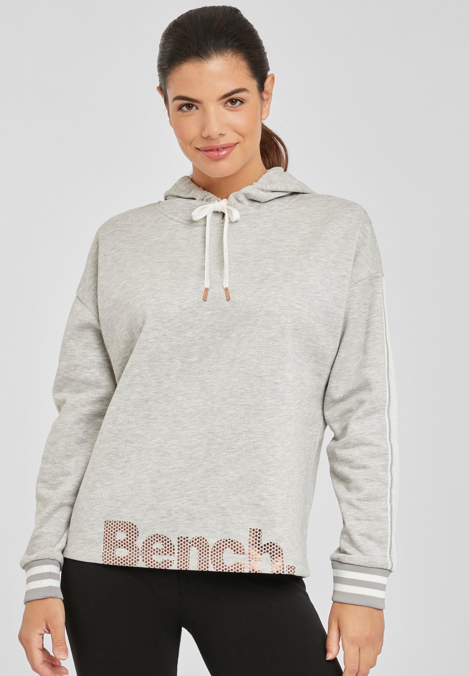 Bench Damen Sweatshirt Gr. XS, Apricot: : Bekleidung