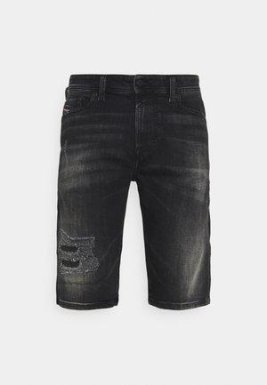 THOSHORT - Džínové kraťasy - washed black
