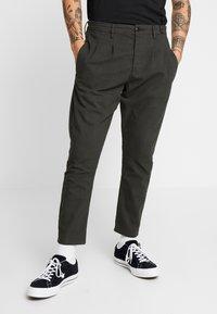 Gabba - FIRENZE  - Trousers - dark green - 0