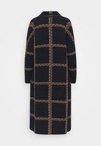 Thought - CHATTERTON CARDIGAN COAT - Classic coat - midnight navy - 1