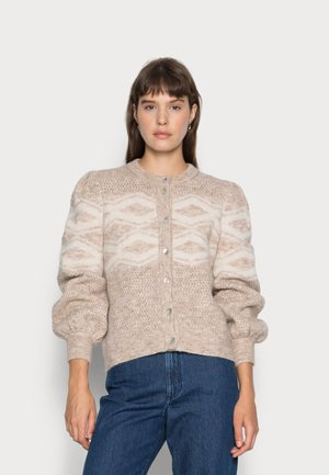 IRENE CARDIGAN - Vest - doeskin melange
