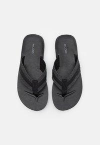ALDO - DUBOST - Sandály s odděleným palcem - black - 3