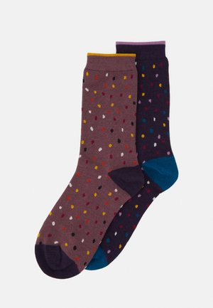 EMME SOCKS 2 PACK - Strømper - blue/royal/purple