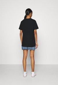 Ellesse - ALBANY - T-shirts print - black - 2