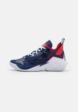 WHY NOT ZER0.4 - Basketbalové boty - blue void/white/university red