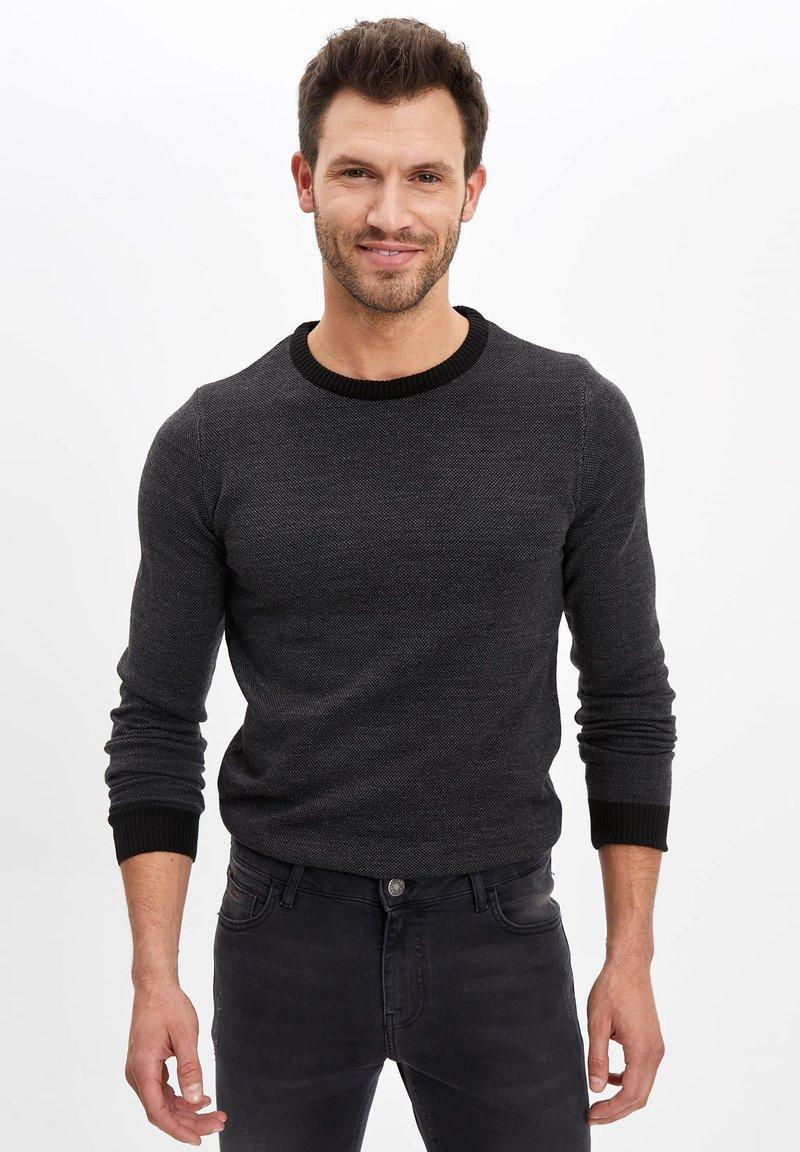DeFacto - Sweter - black