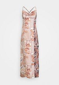 Missguided Petite - PAISLEY NECK CAMI DRESS - Maxi dress - rust - 0