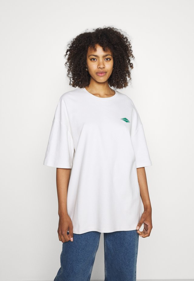 LOGO - Print T-shirt - salt