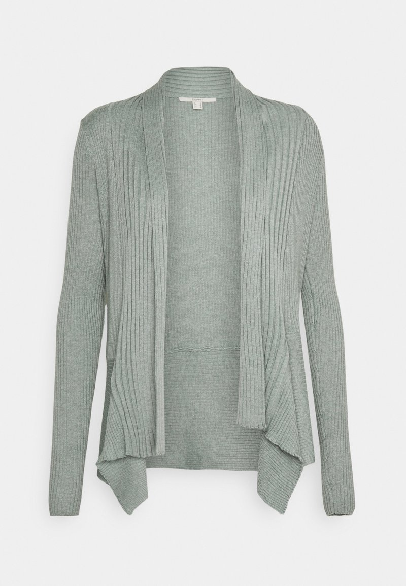 Esprit - CARDI - Cardigan - dusty green