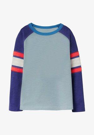 Long sleeved top - nebelblau/segelblau