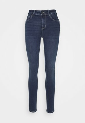 DIVINE - Jeansy Skinny Fit - denim blue arboga wash