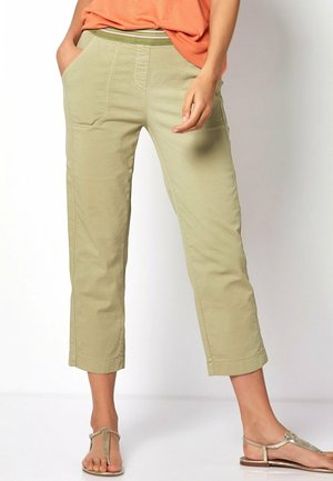SUE - Trousers - lightkhaki