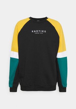 CREW SIDNEY - Sweater - black