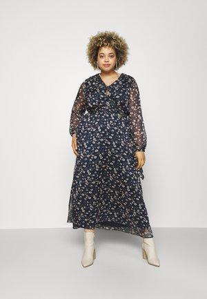 VIALIVIA ANKLE DRESS - Denní šaty - navy