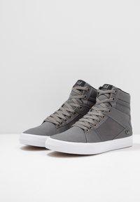 Supra - ALUMINUM - Zapatillas altas - grey/black/white - 2