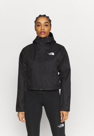 CROPPED QUEST JACKET  - Hardshell jacket - black