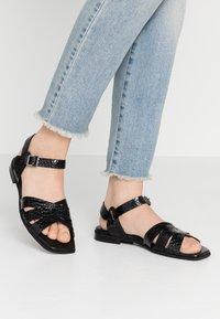Hash#TAG Sustainable - Sandals - nero - 0
