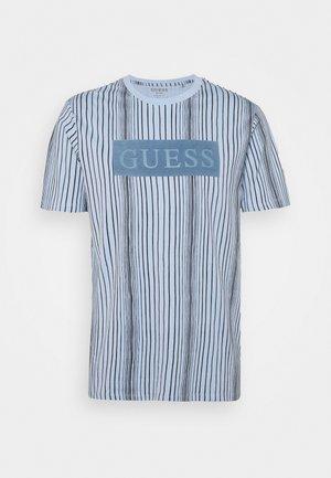 DESERT OBJECT - T-shirt con stampa - steel pastel/black
