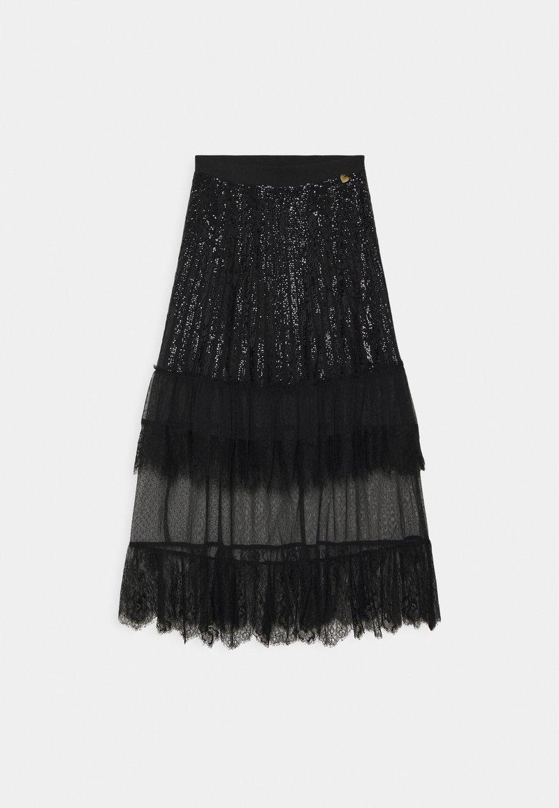 TWINSET - A-line skirt - nero