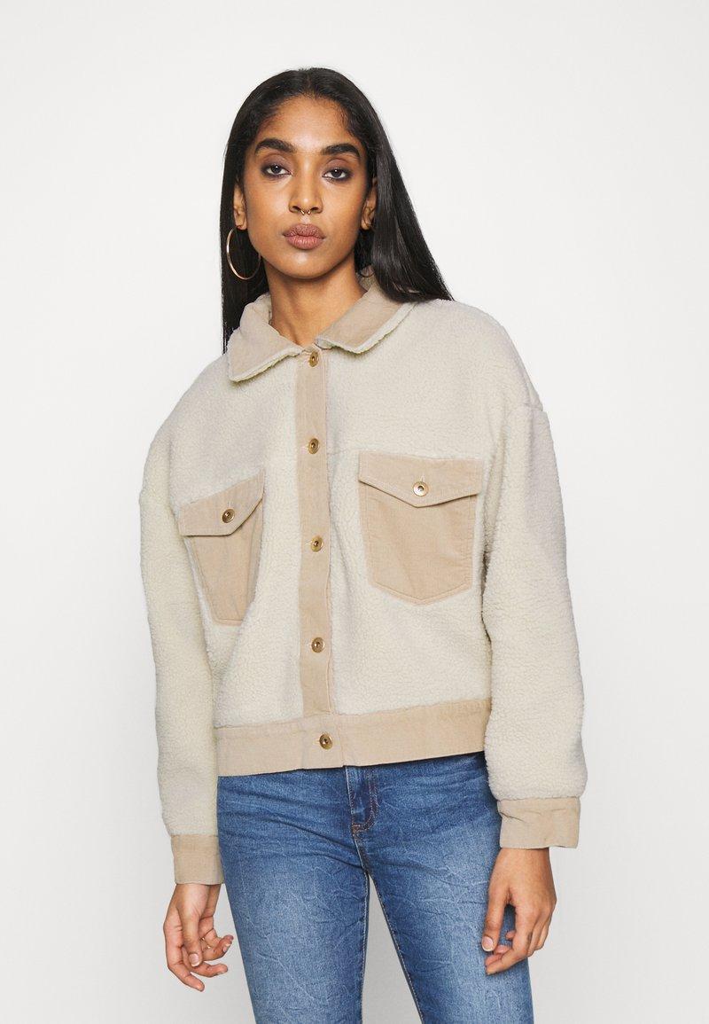 Cotton On - TRUCKER - Light jacket - natural
