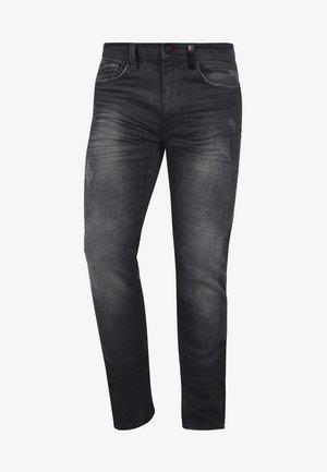 HUSAO - Slim fit jeans - dark grey