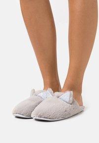 Dorothy Perkins - NOVELTY CAT MULE - Slippers - light grey - 0