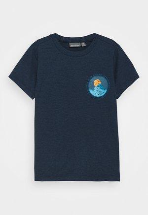 Print T-shirt - dress blues