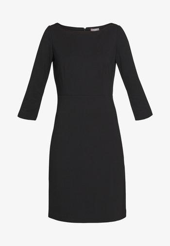 DRESS PUNTO DIE ROMA - Robe d'été - deep black