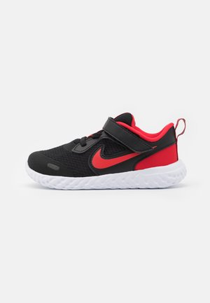REVOLUTION 5 UNISEX - Neutral running shoes - black/university red/white