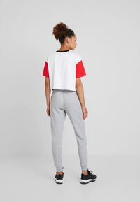 Nike Sportswear - PANT TIGHT - Tracksuit bottoms - dark grey heather/white - 2