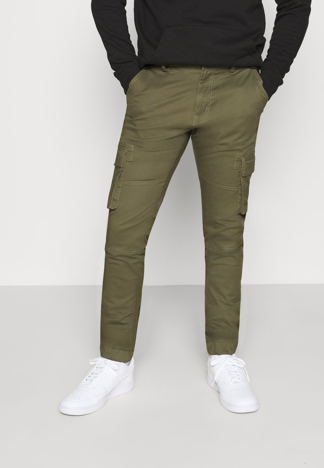 PANT - Cargo trousers - green