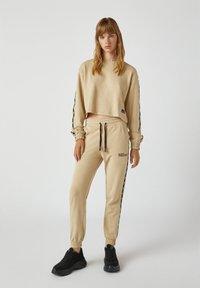 PULL&BEAR - Sweatshirt - beige - 1
