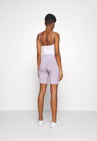 Nike Sportswear - FESTIVAL BIKE  - Kraťasy - iced lilac/digital pink - 2