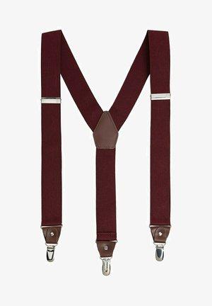 SUSPENDE - Belt - burgunder