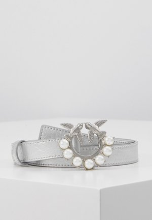 BERRY SMALL BELT - Pasek - silver