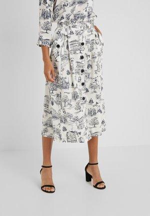 Áčková sukně - ivory