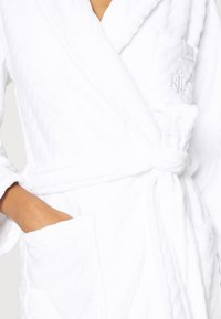 Lauren Ralph Lauren - SHORT ROBE - Dressing gown - white - 4