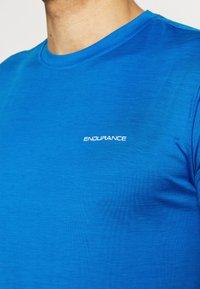 Endurance - MELANGE TEE - Jednoduché triko - directoire blue - 3