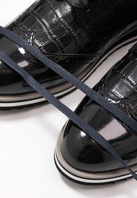 Caprice - Šněrovací boty - black - 7