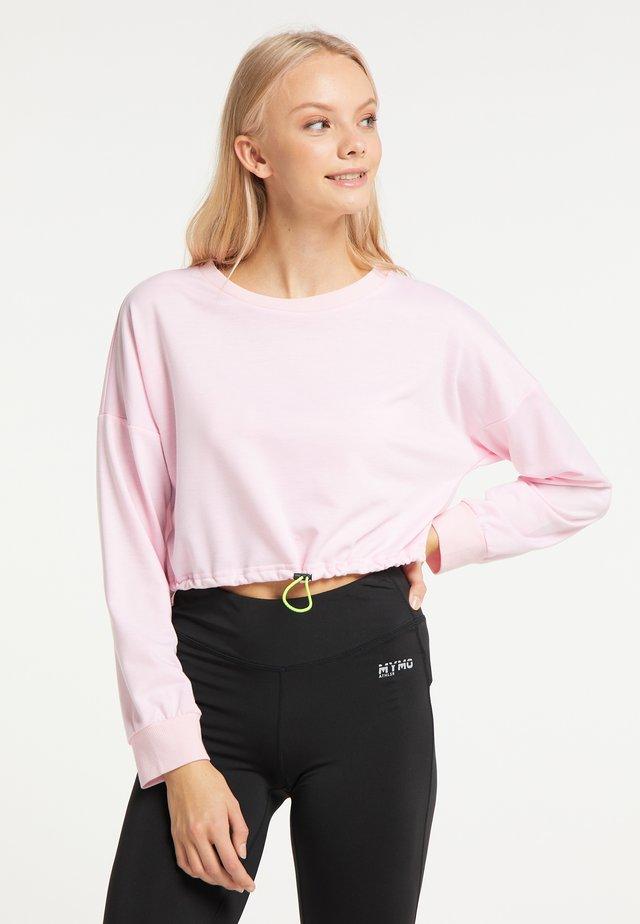 Collegepaita - rosa