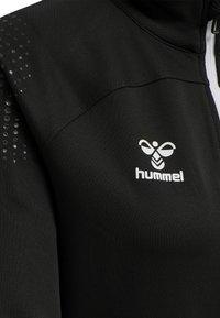 Hummel - HML LEAD  - Zip-up sweatshirt - black - 3