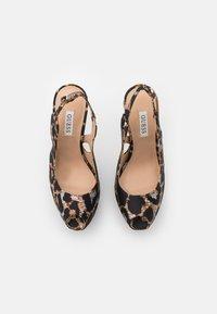 Guess - GINNIA - Platform heels - multicolor - 5