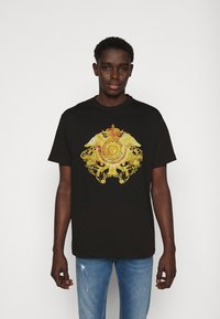 Versace Jeans Couture - MARK - T-shirt med print - black - 0