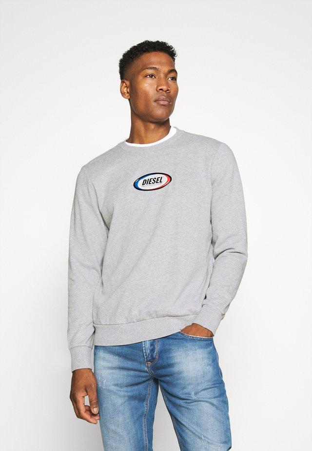 S-GIRK-N85 SWEAT-SHIRT - Sweatshirt - grey